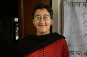 Atishi becoming last name less