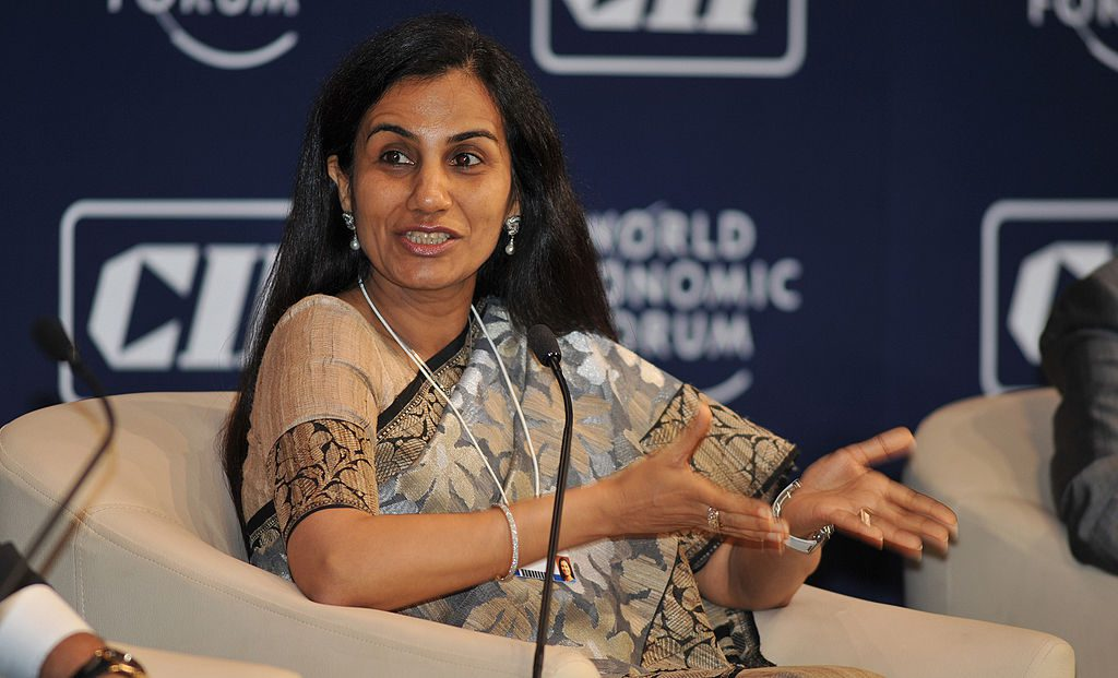 Chanda Kochhar Picture By: Wikipedia