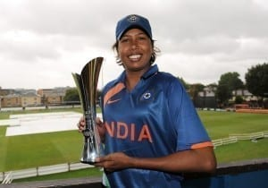 Jhulan Goswami  Picture By: Zimbo