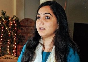 Young female politicians in India, reverse sexism nupur sharma