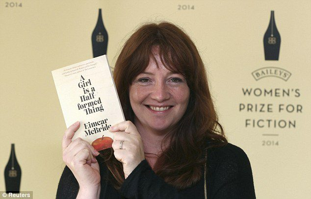 Eimear McBride Picture By:Daily Mail