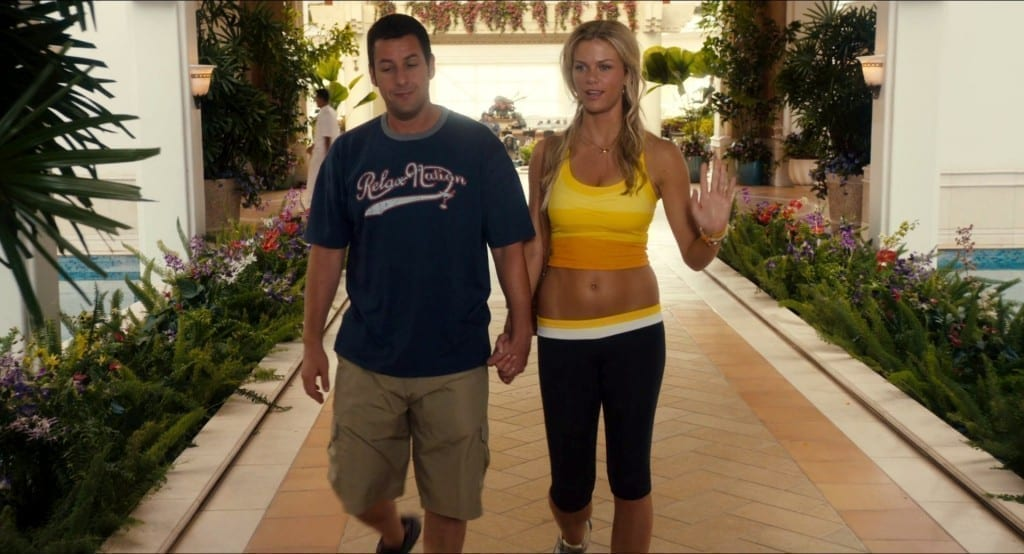 Adam Sandler and Brooklyn Decker in'Just Go With It'