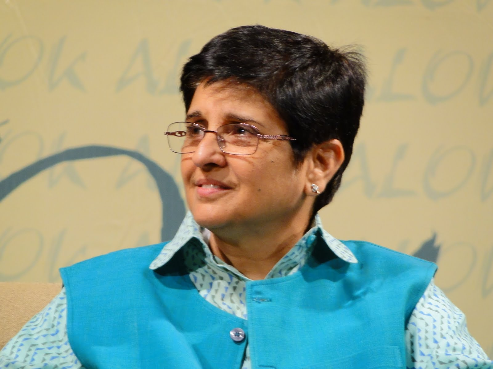 Kiran Bedi Picture By: Can India