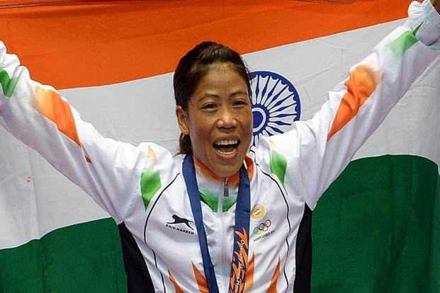 MC Mary Kom Picture By: Live Mint