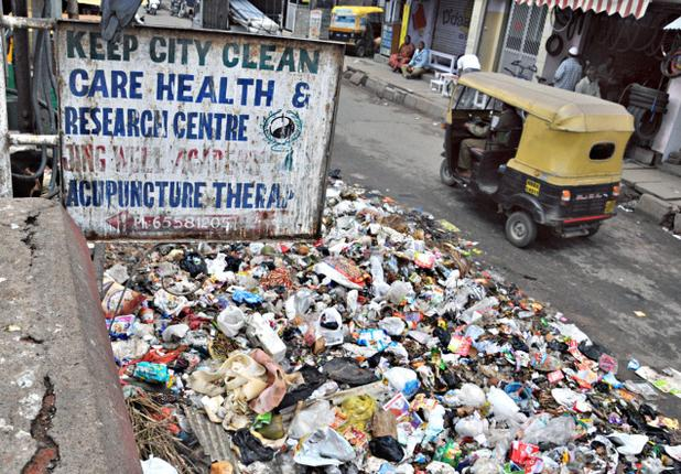 Garbage In India Picture By: The Hindu