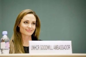 Angelina Jolie, Angelina Jolie Afghan Peace Talks