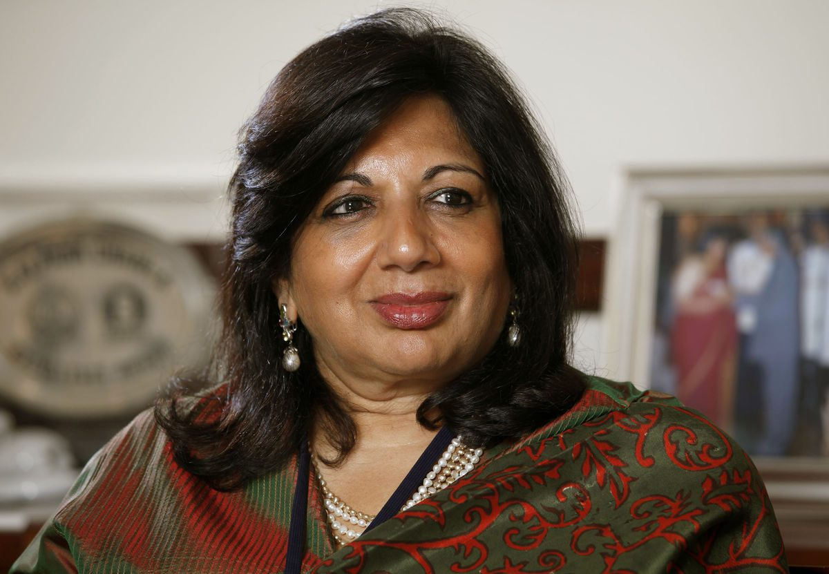 Kiran Mazumdar Shaw  Picture By: The Hans India