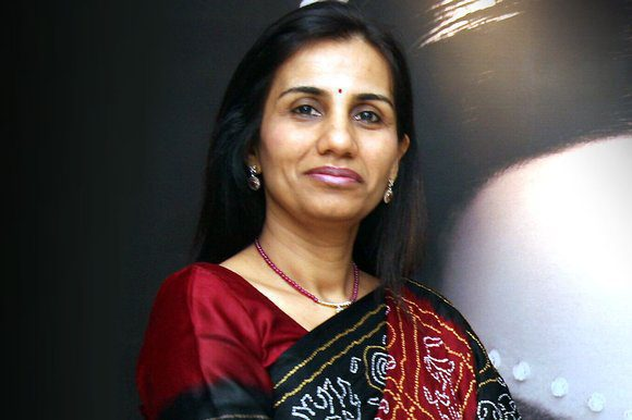 Chanda Kochhar Picture By: The Sunday Times UK