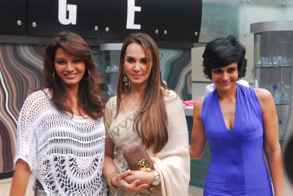 Dr. Jamuna Pai with Diana Hayden and Mandira Bedi  Picture By: Blush Clinics