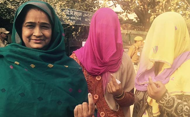 Women Voters in Delhi Picture By: NDTV