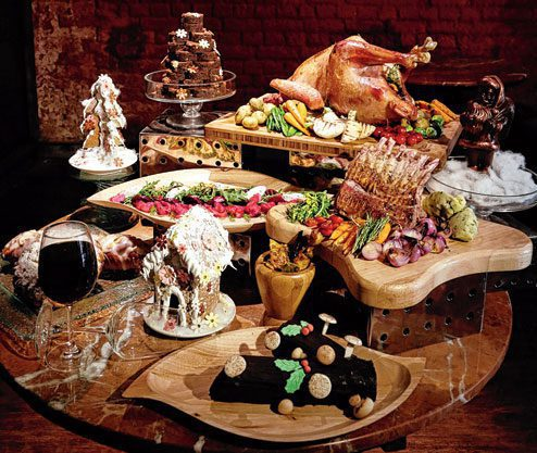 Madhumita Mohanta's Nordic cuisine on Christmas Picture By: Telegraph India