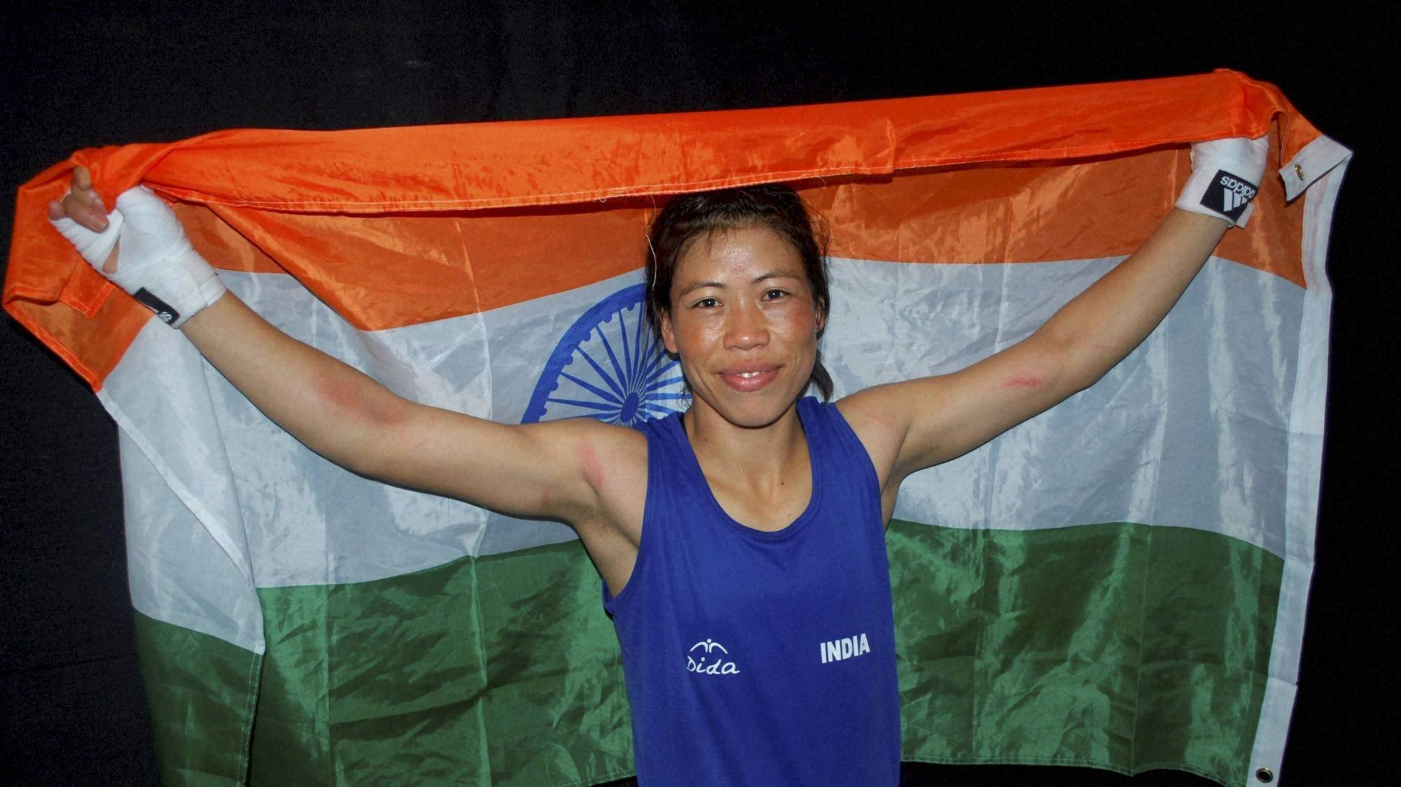 MC Mary Kom Picture By: Tea Posts