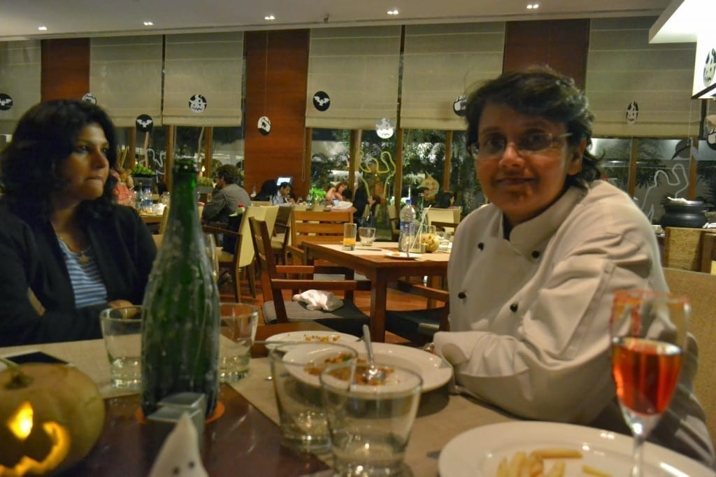 Executive Chef Madhumita Mohanta with Bhavna Mishra  Picture By: Sankalp Thee Foodie