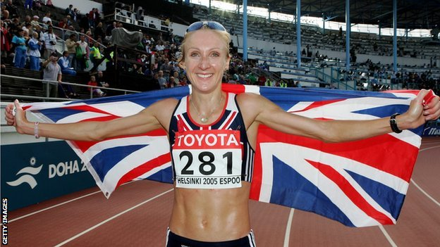 Paula Radcliffe Picture By: BBC.co.uk