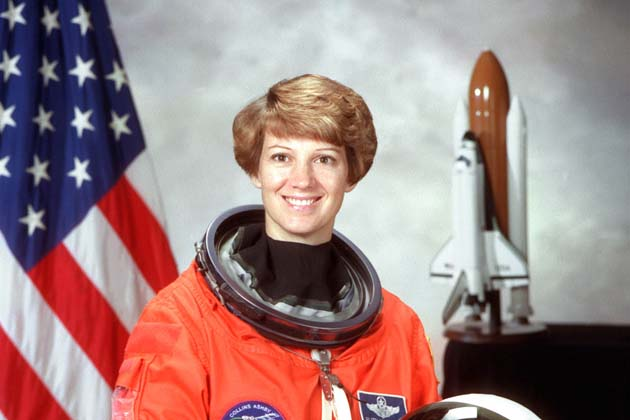 Eileen Collins Picture By: IBN Live