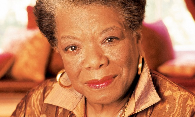 Maya Angelou Picture By: Conscious Thinkers.billyojai.com