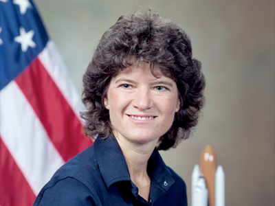 Sally Ride  Picture By: Collectspace.com