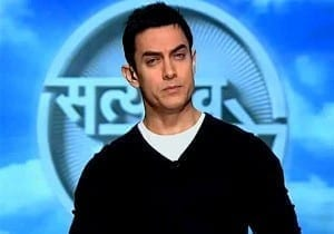 Aamir Khan on 'Satyamev Jayate' Picture By: IndiaTV News