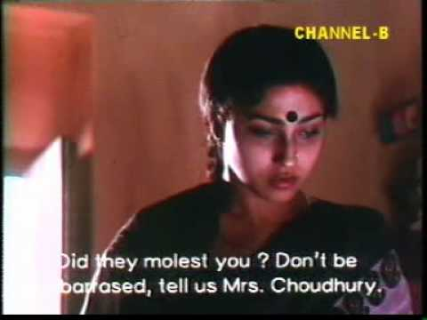 A scene from the film 'Dahan,' based on Suchitra Bhattachrya's novel of the same name Picture By: Tarshi