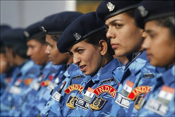 UN female peacekeepers,