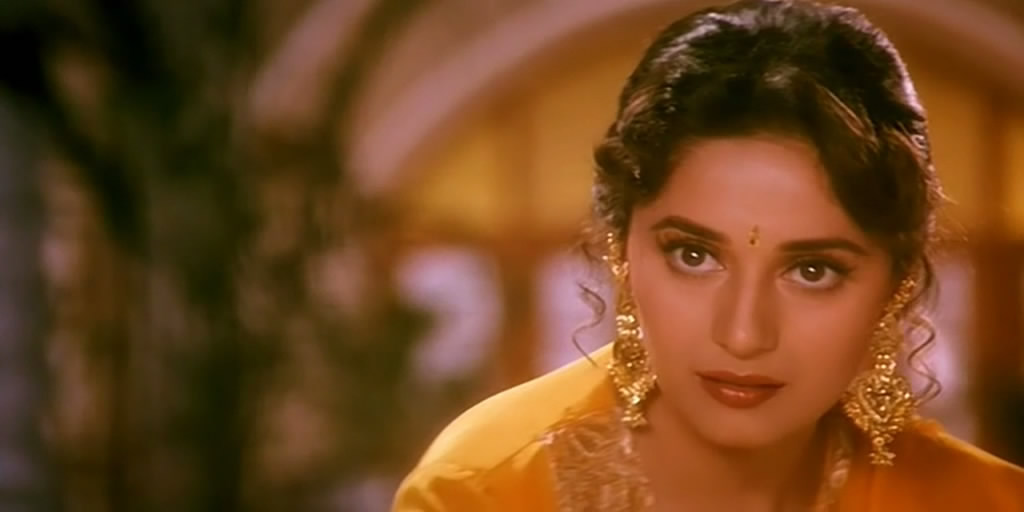 Madhuri Dixit in 'Hum Aapke Hain Kaun' Picture By: Pixgood.com