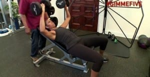 Michelle Obama in her workout video Picture By: NY Daily News