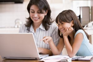 online classes mothers study