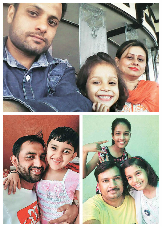 Winning Baap-Beti Selfies