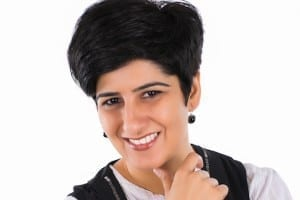 A show reel of a montage of stand-up comedy acts by Neeti Palta reveals her as someone who is unafraid to take a dig at her own kind