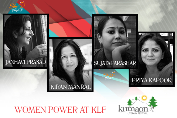 Women at Kumaon Lit Fest