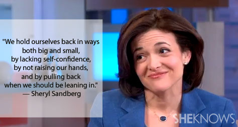 Why Sheryl Sandberg can lift you up on a Monday morning