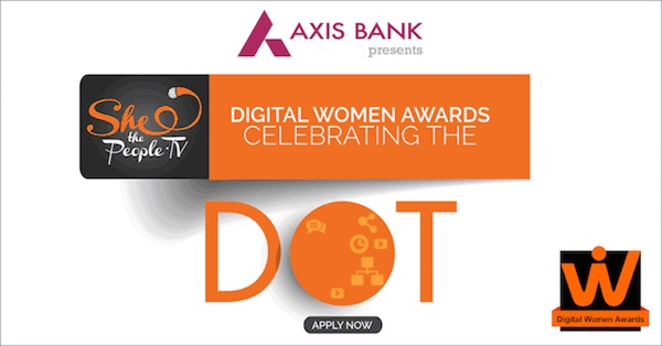 Axis Bank Presents Digital Women Awards powered by SheThePeople.TV