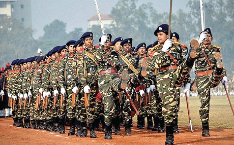 indian army women armed, command posts non combat services forces