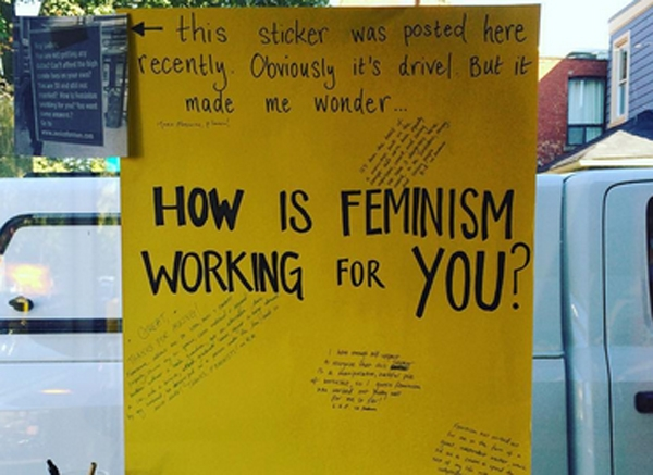 How is feminism working for you