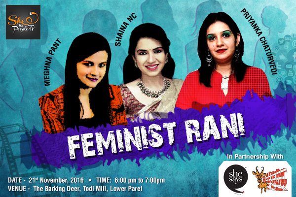 Feminist Rani - Women In Politics
