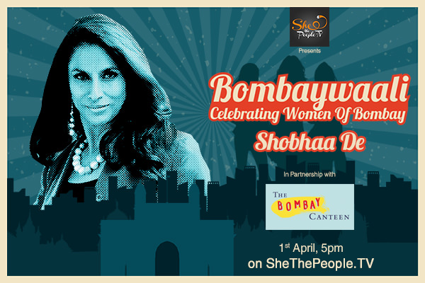 Bombaywaali with Shobhaa De