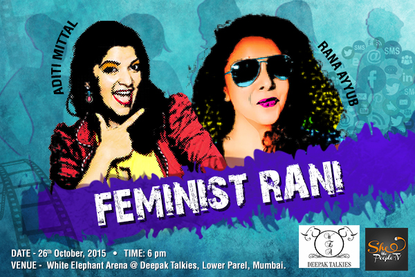 Feminist Rani With Aditi and Rana