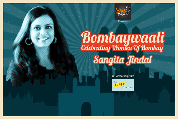 Sangita Jindal on Bombaywaali