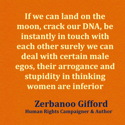 Zerbanoo Gifford speaks with SheThePeople.TV