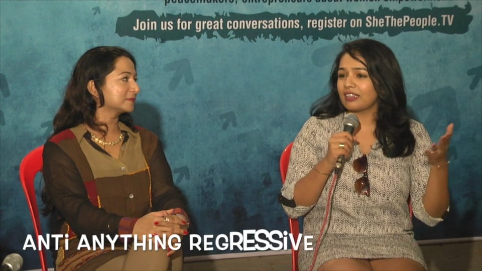 Why is a woman defined by what she doesn't do? Passionate chat @ Feminist Rani