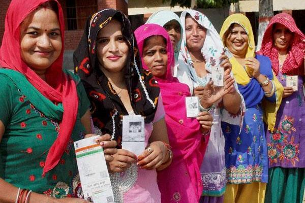 BJP Nine Women Haryana Polls