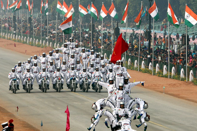 Republic Day CRPF Daredevils
