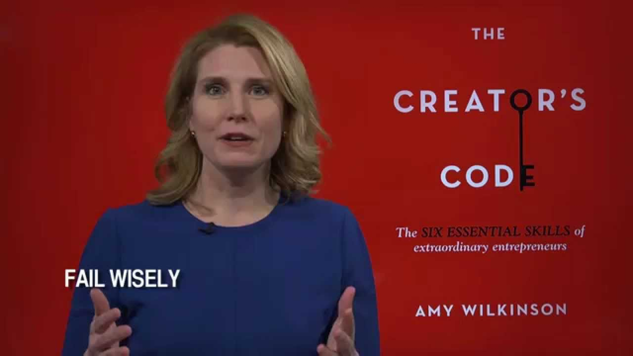 Success or Failure: Creators Code Amy Wilkinson