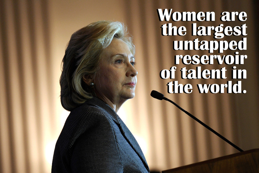 Hillary Clinton, Quote Pic Credit: Mashable
