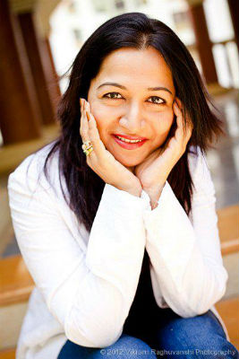 Kiran Manral - a journalist ,a mommy and an author (Pic By Literaturestudio.in)