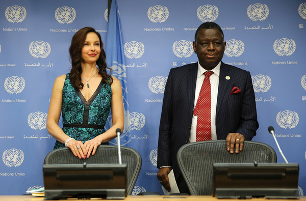 Ashley Judd is appointed UNFPA goodwill ambassador