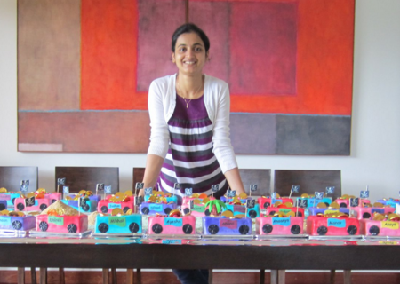 Rumana Jaseel, founder of Incredible Art (Pic By Supportbiz.com)