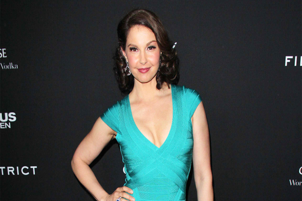 Ashley Judd spoke out against sexual violence in Hollywood