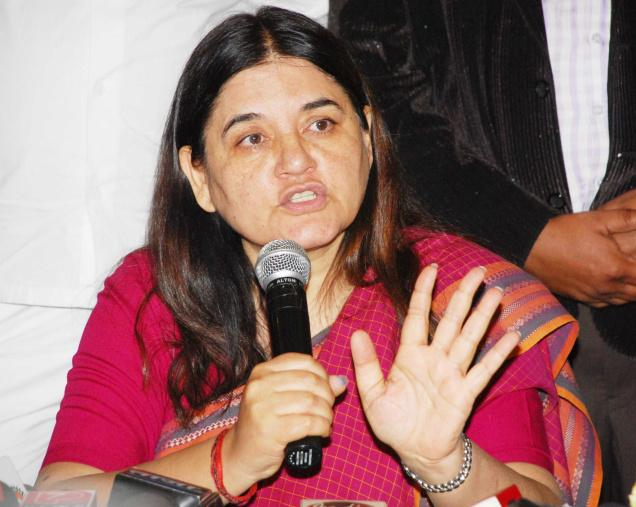 Is Maneka Gandhi trying to align herself with the present Stalinese for of governance?