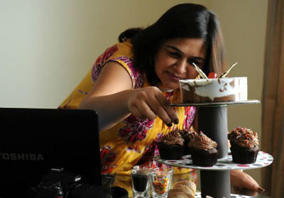 Monika Manchanda, founder of Sin-A-Mon (Pic By Andiwrite.com)